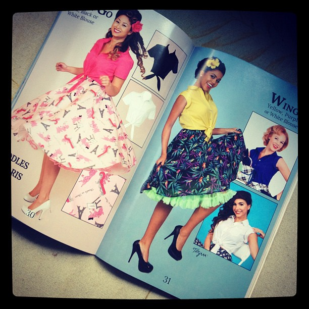 Bettie Page Clothing SS13 Catalog Pg 30-31
